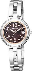 [シチズン]CITIZEN 腕時計 wicca ウィッカ ソーラーテック電波時計 ハッピーダイアリー KL0-219-91 レディース