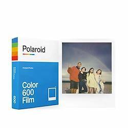Polaroid インスタントフィルム 6002 Color Film for 600 カラーフィルム 8枚入り 【国内正規品】 フレームカラー:ホワイト