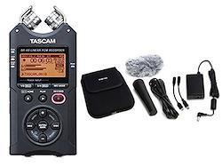 【純正アクセサリーパック/AK-DR11Gmk2セット】TASCAM リニアPCMレコーダー 日本語表示対応版 DR-40VER2-J