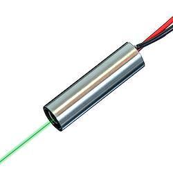 Quarton レーザーモジュール VLM-520-52 LPT (工業用グリーンドットレーザー) 波長:520 nm%カンマ%クラス2%カンマ% 広い使用温度範囲:-20℃~+65℃