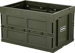 molding CONTAINER BOX 折畳みコンテナーボックス L 50L (カーキ) . カーキ