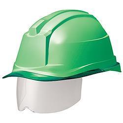 ミドリ安全 ヘルメット 一般作業用 電気作業用 スライダー面 SC19PCLS RA3 αライナー付 グリーン グリーン