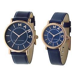 [マークジェイコブス]MARC JACOBS ペアウォッチ ロキシー 36mm 28mm ローズゴールドケース ネイビー レザー MJ1534MJ1539 腕時計 [並行輸入品]