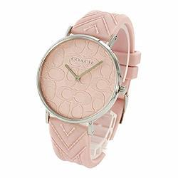 [コーチ]COACH レディース PERRY ペリー シルバーケース ピンク シリコン 14503025 腕時計 [並行輸入品]