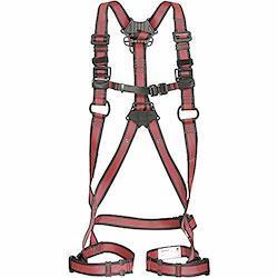 タジマ フルハーネス安全帯ZA 軽量アルミ・ワンタッチ腿バックルモデル Lサイズ赤 AZAL-LRE