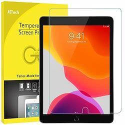 JEDirect iPad 8 / 7 (10.2インチ、2020/2019モデル、第8/7世代用) 強化ガラス 液晶保護フィルム 10.2 インチ HD クリア