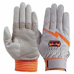 ユアサグローブ トンボレスキュー 人工皮革手袋 LLサイズ E125R-LL 点検整備・ 一般作業・レジャー・スポーツ