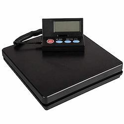 HIUGO デジタル台はかり 電子秤 隔測式 2g単位で 最大50kgまで計量可能 風袋機能搭載 オートオフ機能 携帯便利 操作簡単 電池2本付き