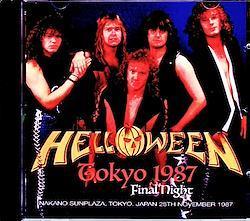 Helloween/Tokyo,Japan 11.28.1987 2CD-R