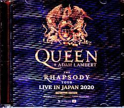 Queen,Adam Lambert/Osaka,Japan 2020 IEM Matrix Version 2CD-R