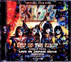 Kiss/Tokyo,Japan 2019 IEM Matrix Version 2CD-R