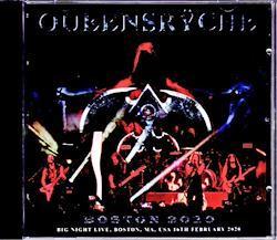 Queensryche/MA,USA 2020 2CD-R