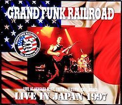 Grand Funk Railroad/Tokyo & Osaka,Japan 1997 3CD-R