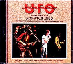 UFO/UK 1985 S & V 1CD-R+1DVD-R