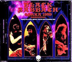 Black Sabbath/Osaka,Japan 1989 Soundboard Upgrade 1CD-R