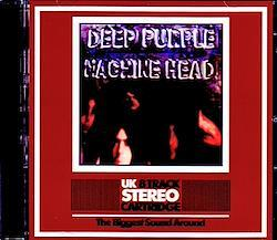 Deep Purple/Machine Head Original UK 8 Track Cartridge 1CD-R