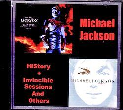 Michael Jackson/History & Invincible Sessions and Others 1CD-R