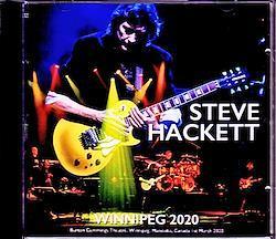 Steve Hackett/Canada 2020 2CD-R