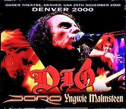 Dio,Yngwie Malmsteen,Doro/CO,USA 2000 Upgrade 4CD-R