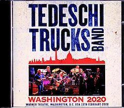 Tedeschi Trucks Band/WA,USA 2020 2CD-R