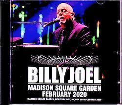 Billy Joel/NY,USA 2.20.2020 2CD-R