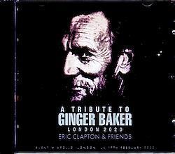 Ginger Baker,Eric Clapton & Friends/London,UK 2020 2CD-R