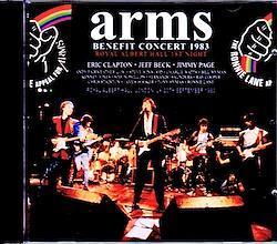 Eric Clapton,Jeff Beck,Jimmy Page/London,UK 1983 2CD-R