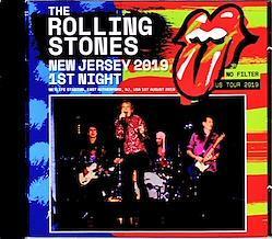 Rolling Stones/NJ,USA 8.1.2019 Remastered 2CD-R