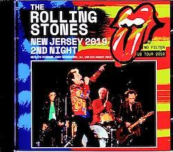 Rolling Stones/NJ,USA 8.5.2019 Remastered 2CD-R