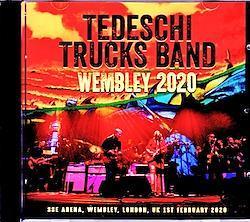 Tedeschi Trucks Band/London,UK 2020 2CD-R