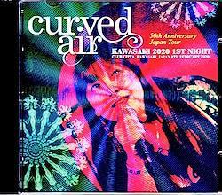 Curved Air/Kanagawa,Japan 2.8.2020 1CD-R