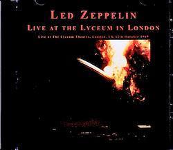 Led Zeppelin/London,UK 10.12.1969 Remastered 1CD-R