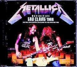 Metallica/WI,USA 1986 Upgrade 1CD-R