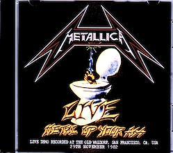 Metallica/CA,USA 11.29.1982 1CD-R