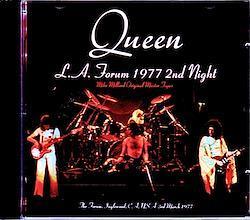 Queen/CA,USA 3.3.1977 Mike Millard Original Master Tapes 2CD-R