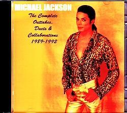 Michael Jackson/Complete Outtakes,Duets & Collaborations 1989-1992 2CD-R