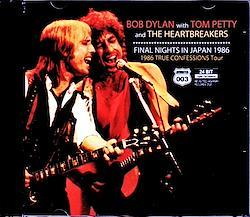 Bob Dylan,Tom Petty and the Heartbreakers/Tokyo,Japan 3.10.1986 & more 2CD-R
