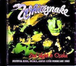 Whitesnake/Osaka,Japan 2.15.1983 2CD-R