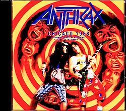 Anthrax/IL,USA 1988 1CD-R