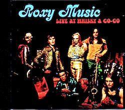 Roxy Music/CA,USA 1972 1CD-R