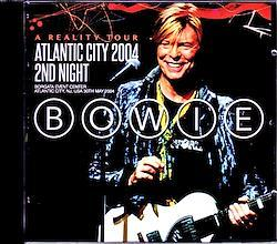 David Bowie/NJ,USA 5.30.2004 2CD-R