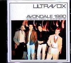 Ultravox/LA,USA 1980 1CD-R