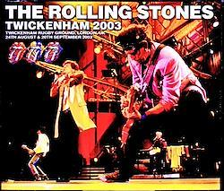 Rolling Stones/London,UK 2003 2 Days Complete 4CD-R