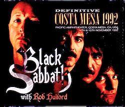 Black Sabbath,Rob Halford/CA,USA 1992 2 Days Complete & more 3CD-R