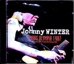 Johnny Winter/France 1987 2CD-R