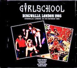 Girlschool/London,UK 1985 & SC 1CD-R