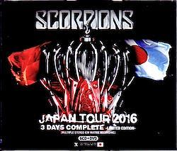 Scorpions/Japan Tour 2016 3 Days Complete IEM Matrix & more 6CDR+1DVDR