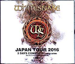 Whitesnake/Japan Tour 2016 3 Days Complete IEM Matrix & more 6CD-R+1DVD-R