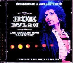 Bob Dylan/CA,USA 6.7.1978 2CD-R