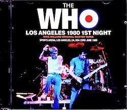 Who,The/CA,USA 6.23.1980 2CD-R